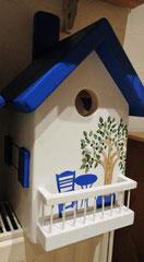 houten nestkastje Grieks stijl olijfboom_3