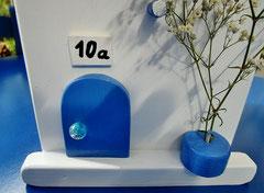 Houten Nestkastje , Grieks Nestkastje met Huisnummer , Details, Vogelhuisje bouwen ,  Grieks vogelhuisje met huisnummer , Huisjes details_2