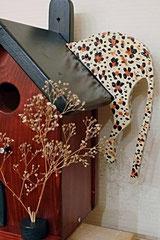 Houten Nestkastje, Nestkastje met Luipaard, Details, Vogelhuisje bouwen, vogelhuisje met luipaard_11