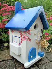 Houten Nestkastje, Nestkastje met Balkon, Details, Vogelhuisje bouwen, vogelhuisje met balkon_2