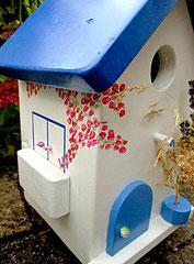 Houten Nestkastje, Nestkastje met Balkon, Details, Vogelhuisje bouwen, vogelhuisje met balkon_9