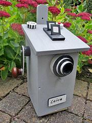 Houten Nestkastje, Nestkastje  De Camera, Details, Vogelhuisje bouwen ,  vogelhuisje de camera