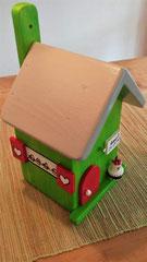 houten nestkastje verjaardag cadeau groen_2