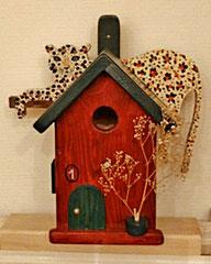 Houten Nestkastje, Nestkastje met Luipaard, Details, Vogelhuisje bouwen, vogelhuisje met luipaard_6