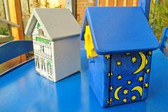 Houten Nestkastje, Nestkastje  De Maan, Details, Vogelhuisje bouwen ,  vogelhuisje de maan_1