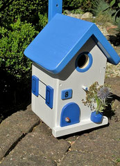 Houten Nestkastje , Grieks Nestkastje met Huisnummer , Details, Vogelhuisje bouwen ,  Grieks vogelhuisje met huisnummer , Huisjes details_4