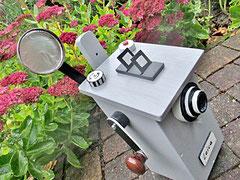 Houten Nestkastje, Nestkastje  De Camera, Details, Vogelhuisje bouwen ,  vogelhuisje de camera_1