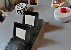 Houten Nestkastje, Nestkastje  De Camera, Details, Vogelhuisje bouwen ,  vogelhuisje de camera_7
