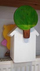houten nestkastje beschilderd baby_ uil  vogelhuisje uniek speciaal_4