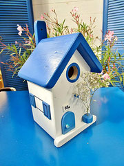 Houten Nestkastje , Grieks Nestkastje met Huisnummer , Details, Vogelhuisje bouwen ,  Grieks vogelhuisje met huisnummer , Huisjes details_5