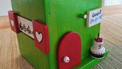 houten nestkastje verjaardag cadeau groen_1