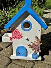 Houten Nestkastje, Nestkastje met Balkon, Details, Vogelhuisje bouwen, vogelhuisje met balkon_4