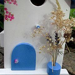 Houten Nestkastje, Nestkastje met Balkon, Details, Vogelhuisje bouwen, vogelhuisje met balkon_14