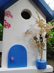 Houten Nestkastje, Nestkastje met Balkon, Details, Vogelhuisje bouwen, vogelhuisje met balkon_12