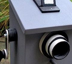 Houten Nestkastje, Nestkastje  De Camera, Details, Vogelhuisje bouwen ,  vogelhuisje de camera_4