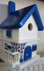 houten nestkastje Grieks huisje bougainville balkon_6