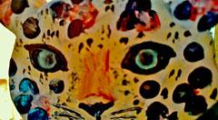Houten Nestkastje, Nestkastje met Luipaard, Details, Vogelhuisje bouwen, vogelhuisje met luipaard_1