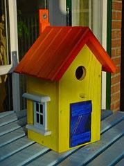 Houten Nestkastje, Nestkastje  met speciaal raam en deur, Details, Vogelhuisje bouwen ,  vogelhuisje met speciaal raam en deur