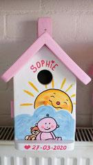 houten nestkastje geboorte baby cadeau-1