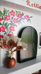 houten nestkastje beschilderd naam eigen huis persoonlijk_1