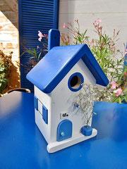 Houten Nestkastje , Grieks Nestkastje met Huisnummer , Details, Vogelhuisje bouwen ,  Grieks vogelhuisje met huisnummer , Huisjes details_3