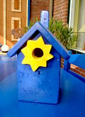Houten Nestkastje, Nestkastje  De Maan, Details, Vogelhuisje bouwen ,  vogelhuisje de maan_4
