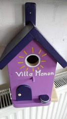 houten nestkastje beschilderd Villa Manon_3