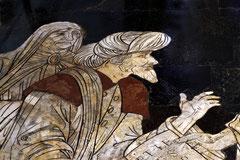 Siena Fußbodenmosaik im Dom