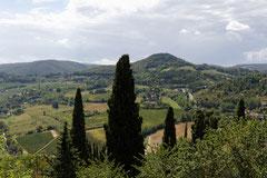 Landschaft bei Montepulciano