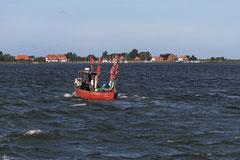 Fischerboot vor Hiddensee
