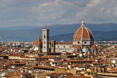 Blick auf Florenz von der Piazzale Michelangelo