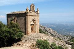 Kapelle in der Nähe des Klosters Montserrat