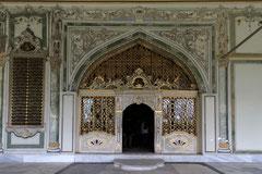 Topkapi -Palast (Eingang eines Pavillons)