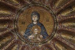 Mosaik in einer Kuppel des Chora-Klosters
