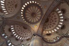 Inneres der Blauen Moschee