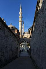 Blick auf die Süleymaniye Moschee