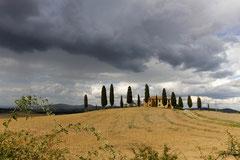 Landschaft im Val d'Orcia