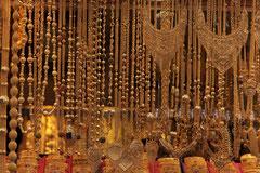 Traditioneller Goldschmuck im Großen Basar