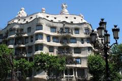 Die Casa Milà von Gaudi