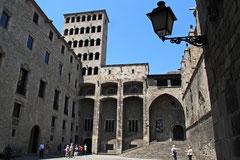 Barcelona Gotisches Viertel (Königspalast)