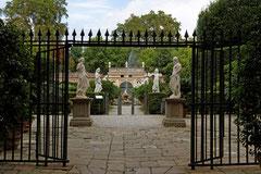 Lucca Garten des Palazzo Pfanner