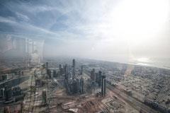Dubai - Blick vom Burj Khalifa