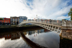 Irland - Dublin Ha' penny Bridge