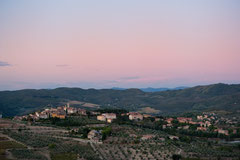 Impressionen Toskana - Radda in Chianti im Abendlicht