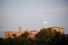 Impressionen Toskana - Mond über Colle Val d'Elsa