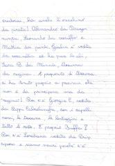 Carnevale 2012: i bambini scrivono una tenera, per noi commovente,  lettera a Matilde per raccontarle il loro Carnevale.