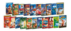Quasi tutti i classici Disney, sia i libri che i films.