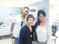 2012/06/24(土)  長男HIRO、YUMI、オーラカウンセラーの妻のみゆみゆです
