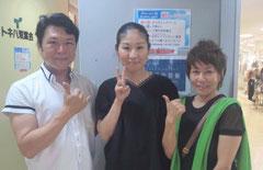 2014/6/16 第9回あけのアクロスタウン 出張癒し工房 手祖のYOSHIKO