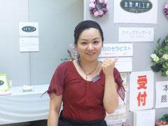 2012/06/25(日)  あけのアクロスタウン出張癒し工房千秋楽、クイックマッサージの緑子です